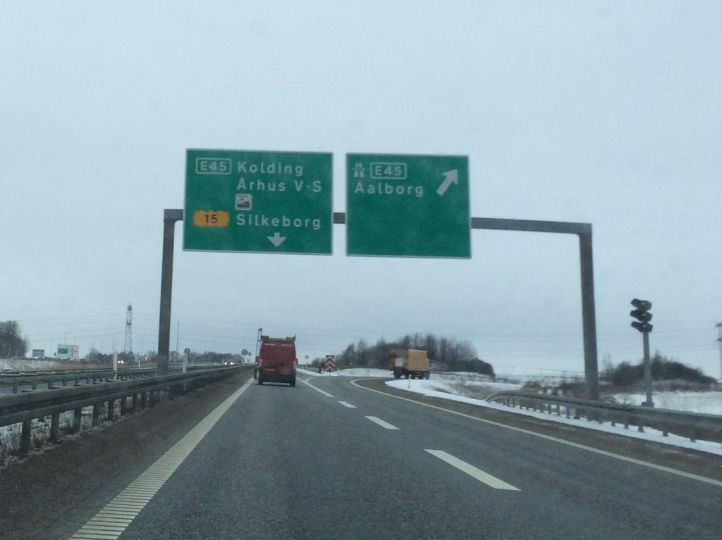 Alle veje fra E45 fører til Silkeborg!