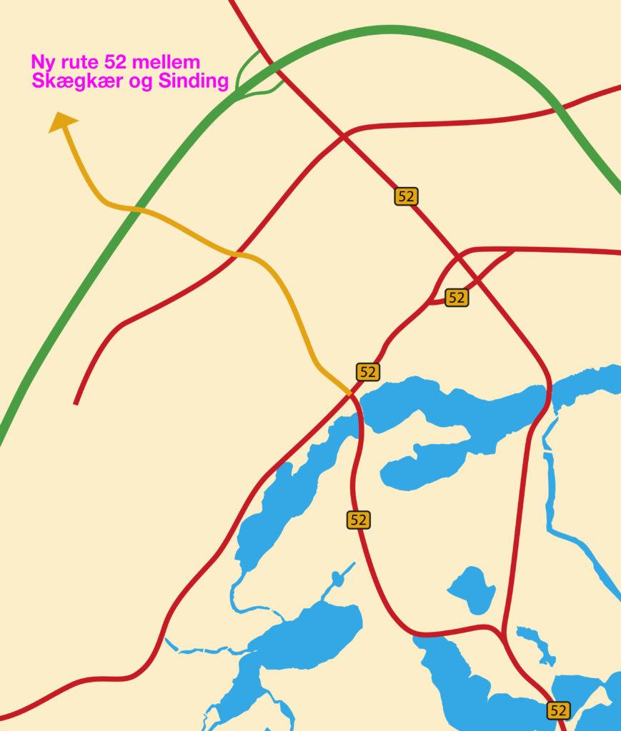 Linjen I Jylland Pa Kort Agenthorse Live